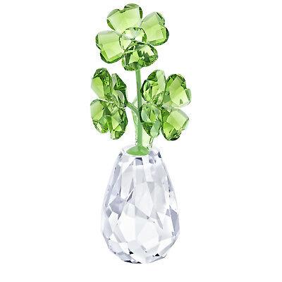 (Swarovski Crystal Creation 5415274, Flower Dreams, Four-Leaf Clover, RRP$149)