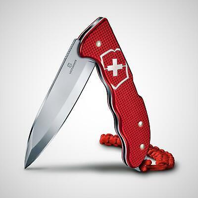 Victorinox Hunter Pro Red Alox Swiss Army Knife Pocket Clip & Lanyard New In Box
