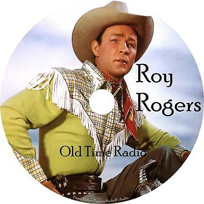 Roy Rogers Old Time Radio Shows OTR Westerns 82 Episodes on 1 MP3 DVD Free (Old Time Radio Westerns)