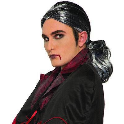 Erwachsene Gothic Prince Herren Vampir Viktorianisch Kostüm Zubehör Grau
