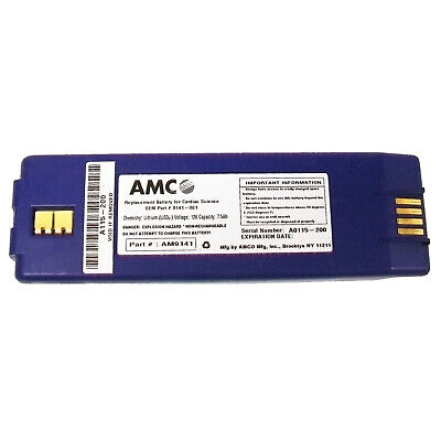 Amco 9141 Battery For Cardiac Science 9100 9200 And Survivalink - New Exp Date