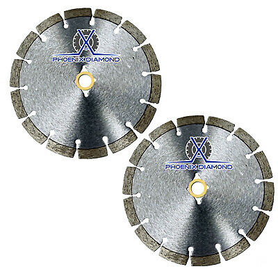 2pack 4 Wetdry Diamond Saw Blade All Purpose For Concrete Stone Brick Masonry