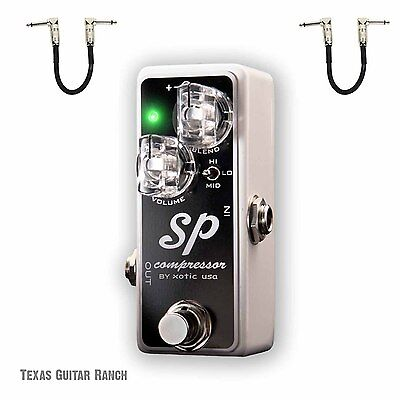 XOTIC SP Compressor Guitar Effects Pedal Exotic Free Shipping Authorized Dealer