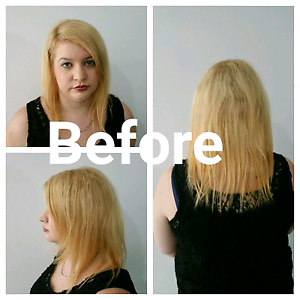 Tape Hair Extension 100% European Remy Human Hair Southbank Melbourne City Preview