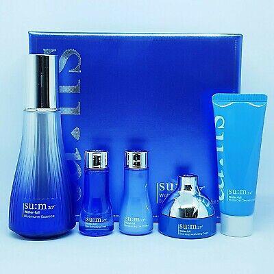 SU:M37 Water Full Bluemune Essence Special Set Moisturizing Nutrition K-Beauty