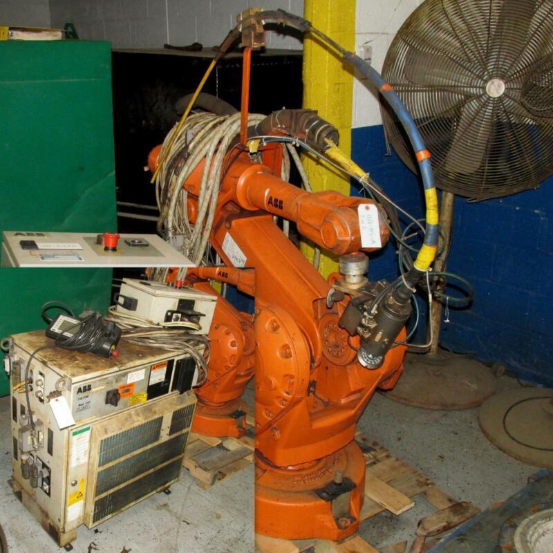 ABB IRB 2400 ROBOT MANIPULATOR ARM W/ CONTROLLER, 24-20237