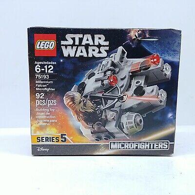Lego 75193 Star Wars Microfighters Millennium Falcon Chewbacca Disney New Sealed