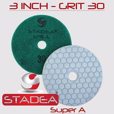 Stadea Diamond Polishing Pad Dry 3 - Concrete Granite Stone Glass Polishing