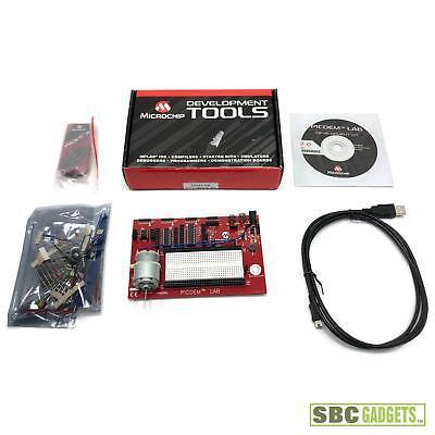 Microchip Picdem Lab Development Board Kit Model Dm163045