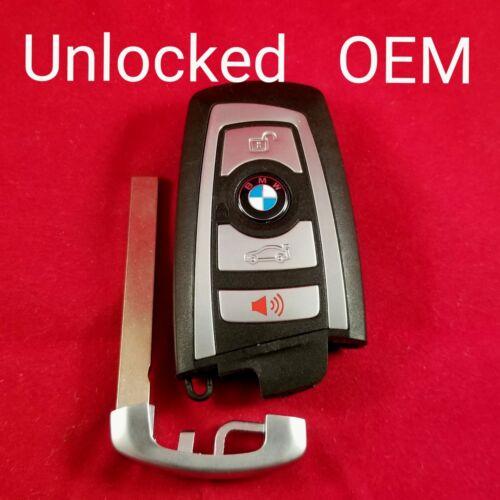 *Read Description* Unlocked OEM BMW Smart Key 4B Trunk YGOHUF5662