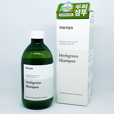 Manyo Factory Herbgreen Natural Hair Shampoo 510ml K-Beauty