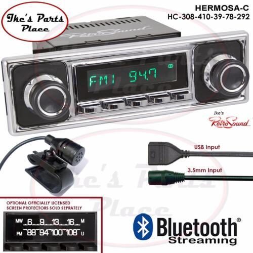 RetroSound Hermosa-C Radio/Bluetooth/USB/Mp3/3.5mm AUX-In 4 ipod-308-4