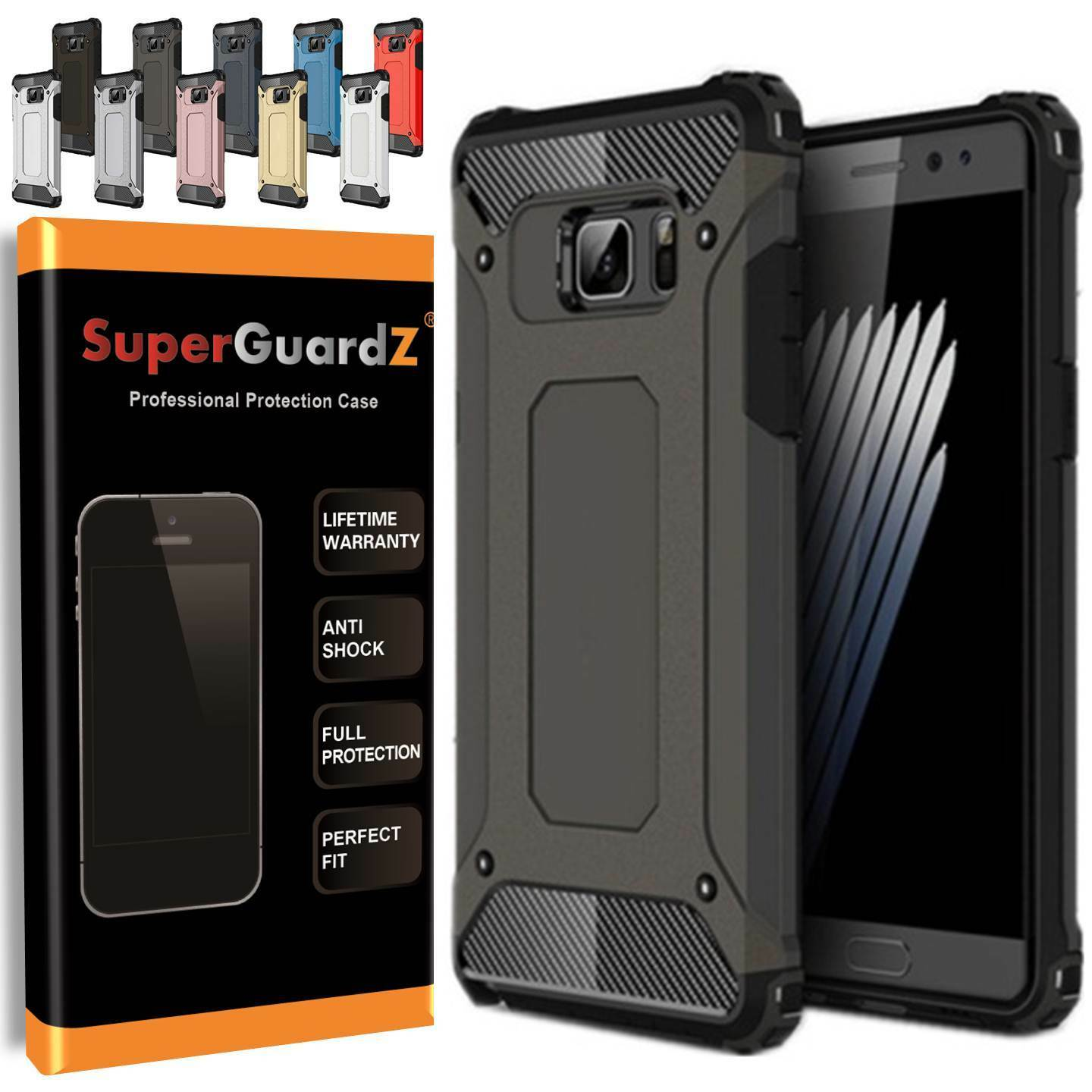 For Samsung Galaxy Note 5 - SuperGuardZ® Heavy-Duty Shockpr