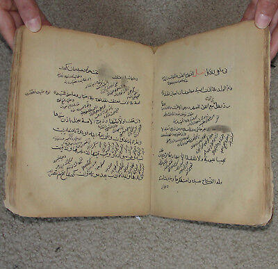 Ancient Book Afghanistan Farsi Muslim Islamic Persian Manuscript Talisman Amulet