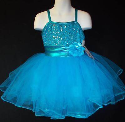 NEW!   STUNNING PEACOCK DANCE PAGEANT COSTUME ~ SMALL CHILD - Peacock Costume Child