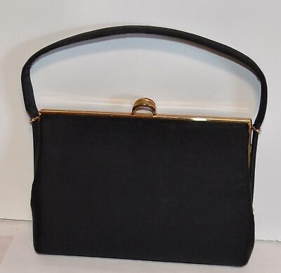 1950s Handbags, Purses, and Evening Bag Styles Vintage 1950's Coblentz Original Black Handbag Purse $35.00 AT vintagedancer.com