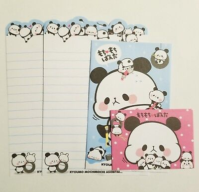 Letter Writing Set - Mochi Panda Mini Letter Set Writing Paper Envelope Kawaii Stationery