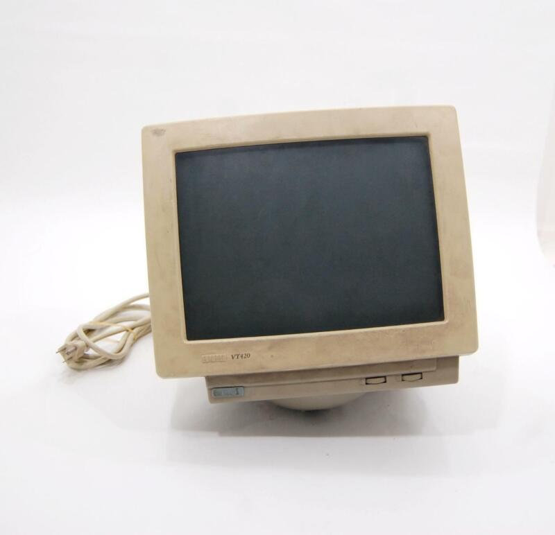 VTG DEC Digital VT420-C2 Amber Screen Video Terminal
