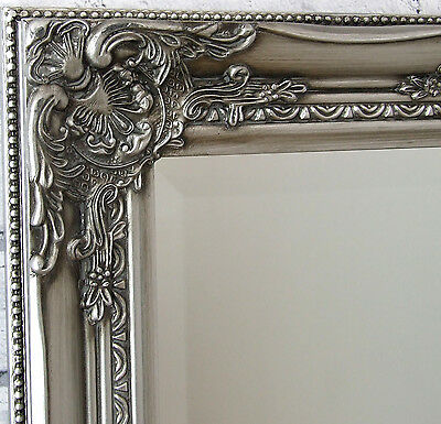 Kingsbury full length ornate large vintage leaner wall for Decorative full length wall mirrors