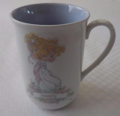 Precious Moments Coffee Mug/Cup 'Nancy' by Enesco 1989, Samuel Butcher