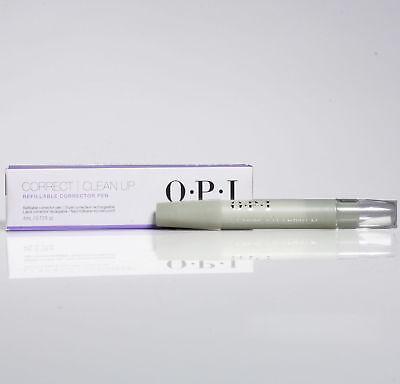 OPI Nail Polish Correct & Clean Up Refillable Corrector Pen .13oz New in Box Correction Pen Refill