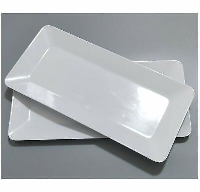 17-Inch Melamine Serving Platters/Rectangular Trays for Party,100% Melamine ()