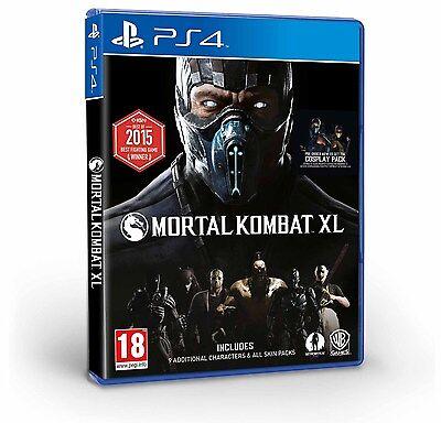 Mortal Kombat XL [PlayStation 4 PS4, Region Free, Arcade Fighting Fatality] NEW