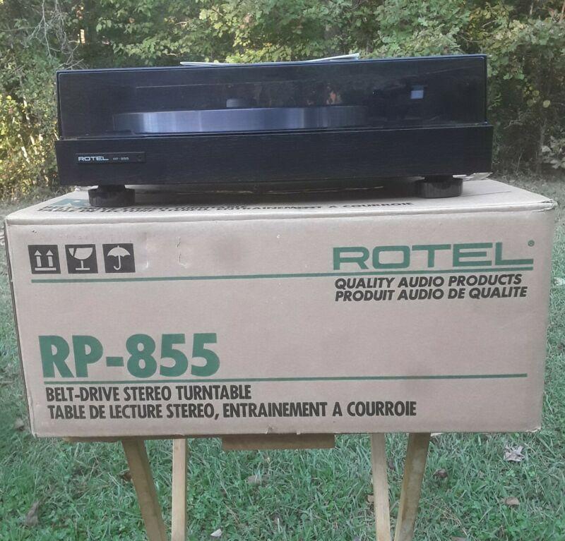 VINTAGE ROTEL RP-855 TURNTABLE