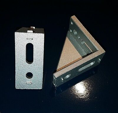 Aluminum T-slot Profile 30mm Corner Bracket For 30x30 Us Stock