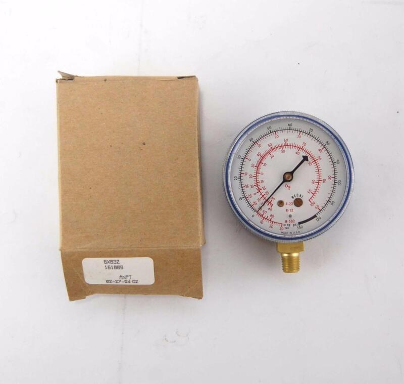"New Ametek USG 2 1/2"" Pressure Gauge HVAC 6X832 16889"
