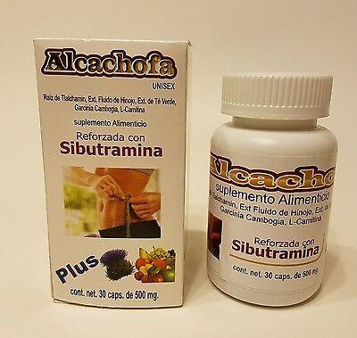 Alcachofa Plus 30 Capsulas Alcachofa Plus30 Capsules Reforzada con Sibutramina