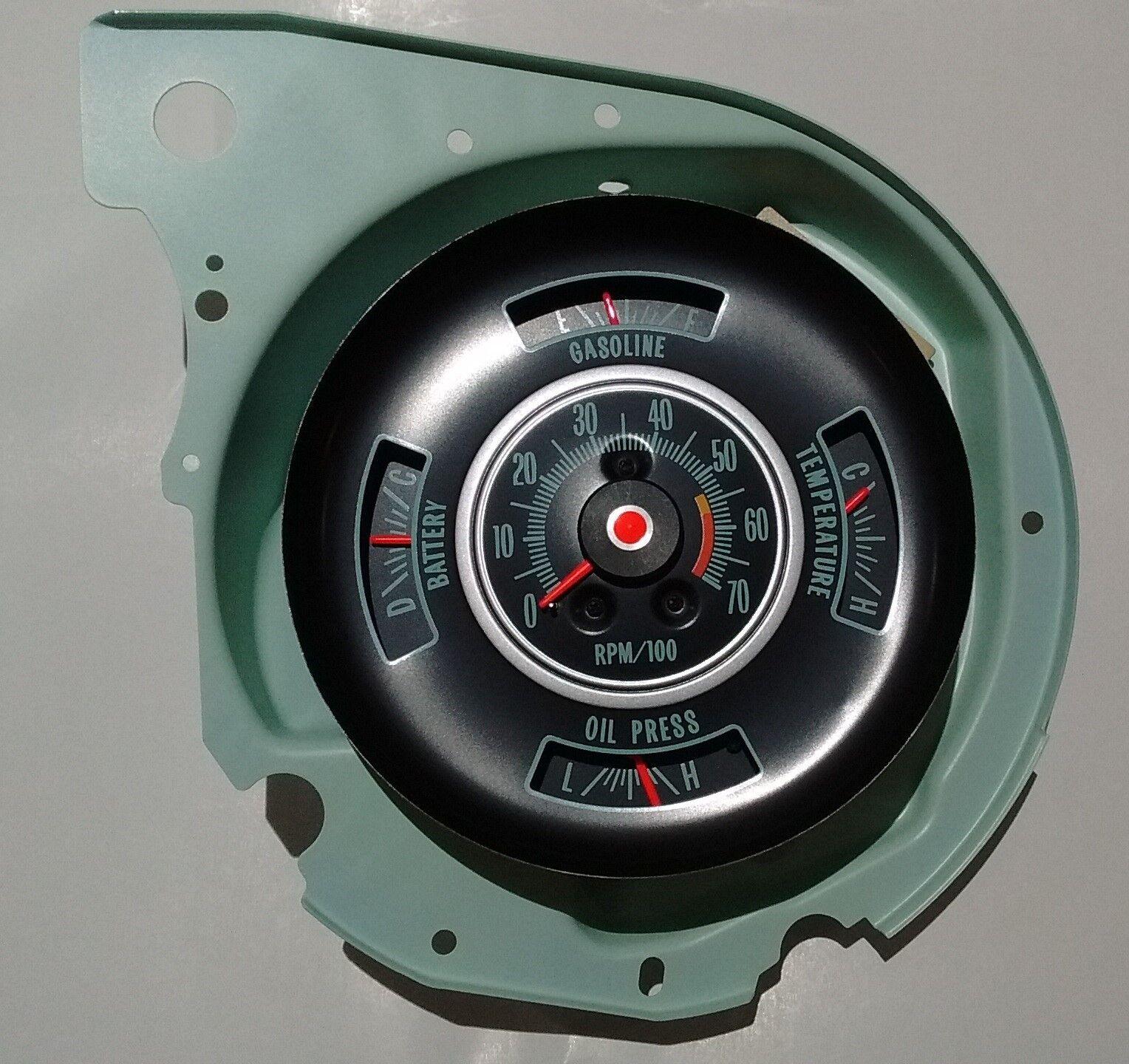80 psi oil pressure sending unit 69 72 chevy chevelle nova camaro tachometer dash gauge 69 chevy chevelle bu el camino 5700 rpm tach gauges