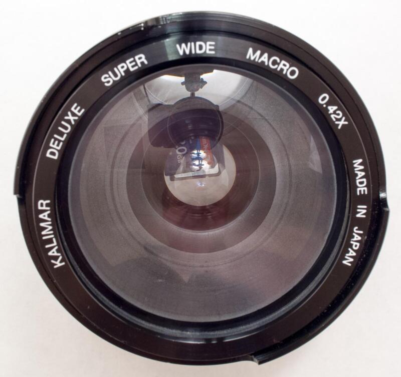Kalmar Deluxe Super Wide Macro Lens 0.42x 49mm Ring