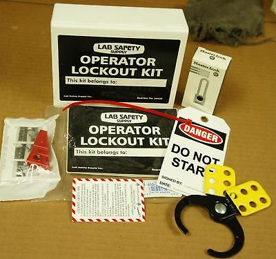 LAB SAFETY OPERATOR LOCKOUT KIT !  T240