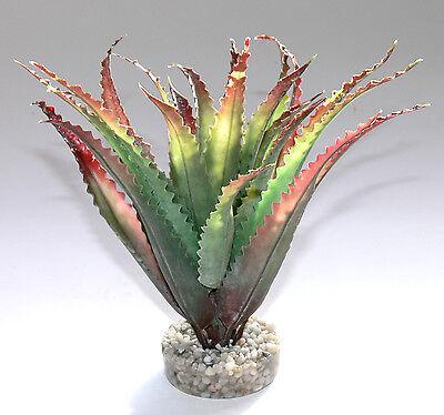 Sydeco Aloes Terrariendeko Terrarium Kunststoffpflanzen Dekoration Pflanzen