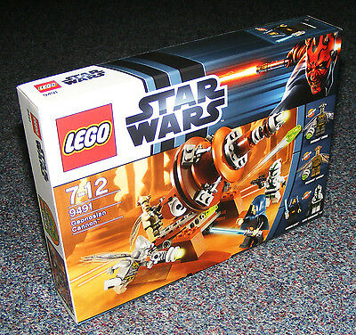 STAR WARS LEGO 9491 GEONOSIAN CANNON BRAND NEW SEALED
