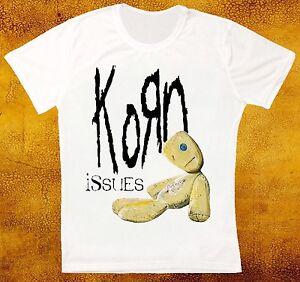 Korn-Issues-Rock-Banda-Retro-Vintage-Hipster-Camiseta-Unisex-1041