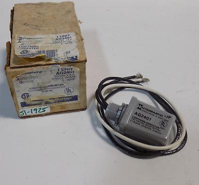 Intermatic 120240vac 1ph 3-wire Lightning Arrester Ag2401 Nib