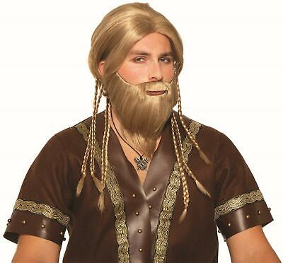 Deluxe Viking Sailor Mustache with Beard Costume Accessory