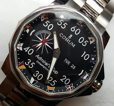Corum Admirals Cup Competition Titanium 48mm Men's Watch 947.931.04 Day & Date