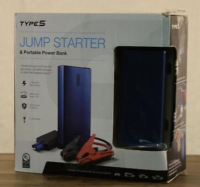 (NEW Winplus Type S Jump Starter And Portable Power Bank 2 USB Charging Ports)