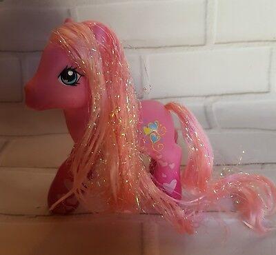 My Little Pony Pinkie Pie Valentine Gradient Pink Hearts G3 2007 Hasbro MLP