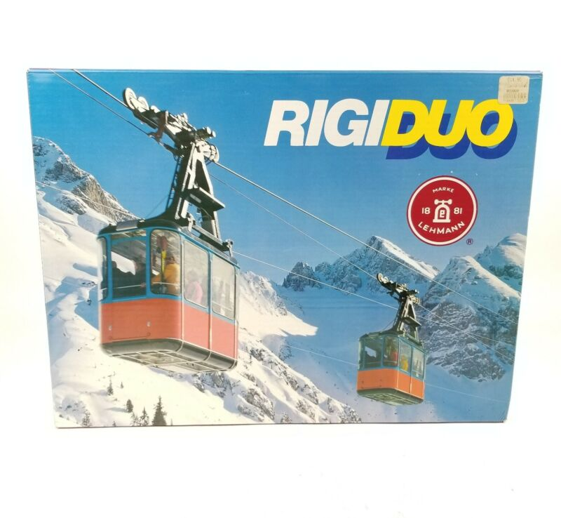LGB 9000 Rigiduo Lehmann Electric Cable Car* Set Box G Scale Incomplete