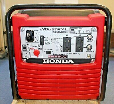 Honda Eb2800i 120v 2800w Industrial Gasoline Portable Inverter Generator Quiet