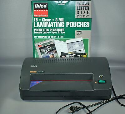 Royal Super Guard Laminator Plus Tested In Good Working Condition