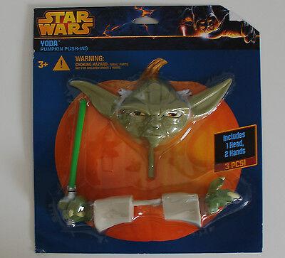 Halloween~USA~Kürbis~Star - Yoda Kürbis