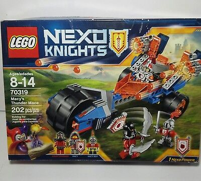 Lego 70319 Nexo Knights Macy's Thunder Mace Sealed Crust Smasher Macy Bot