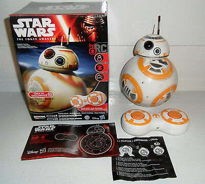 STAR WARS FORCE AWAKENS BB-8 Remote Control Droid - AWESOME Target Exclusive