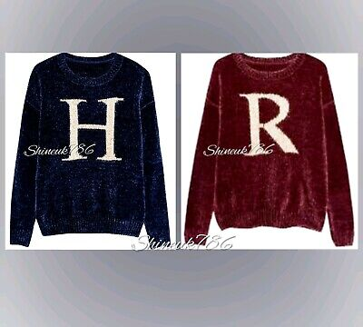 New ladies Primark Harry Potter ,RON Wesley Christmas knitted Jumper Brand New ()
