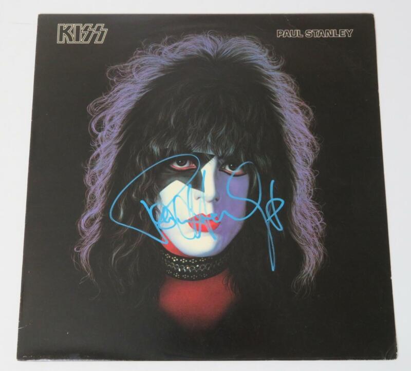 """Paul Stanley KISS Signed Autograph Auto """"KISS Solo: 1978 78 S/T"""" Album Vinyl LP"""